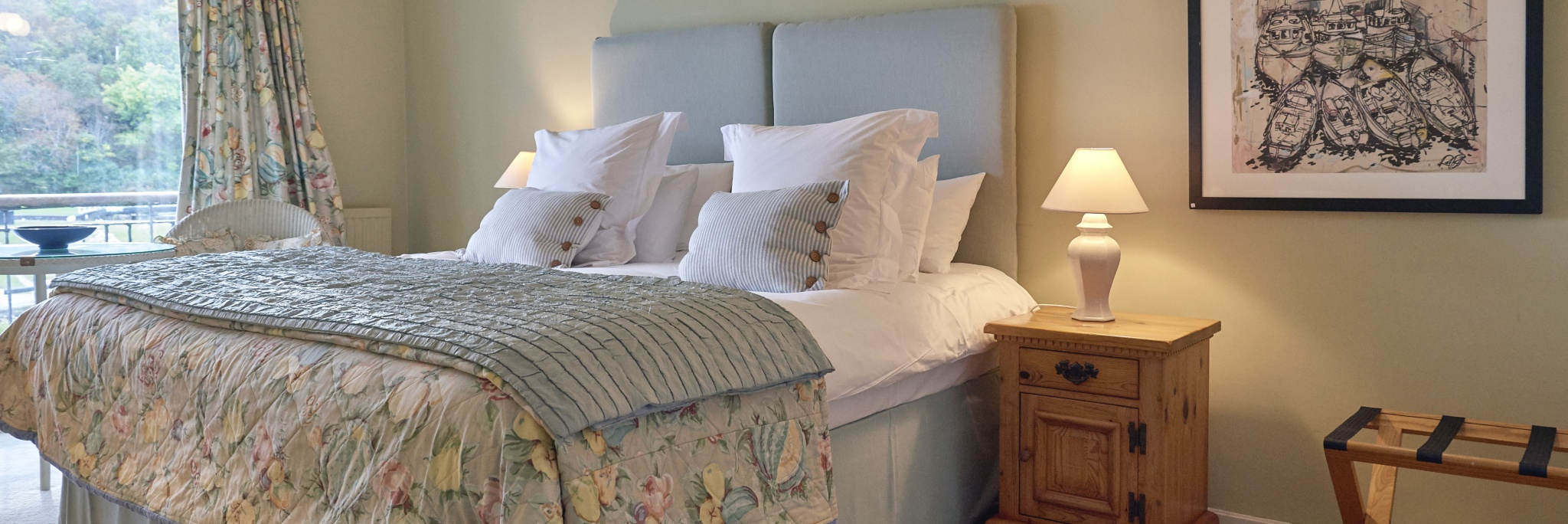 All our rooms have been individually designed