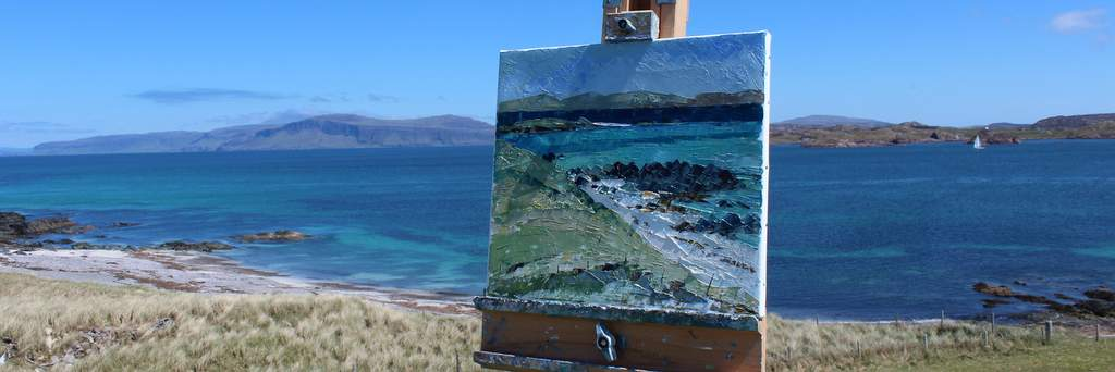 Enjoy short painting breaks in Crinan